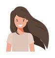 teenager boy avatar character vector image vector image