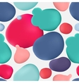 Colorful paint lacquer polish stain vector image