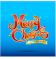 012 Merry Christmas text 002 vector image