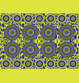 african print fabric ethnic ankara fashion style vector image