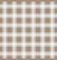 brown gingham seamless pattern background vector image vector image