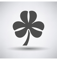 Clover Leaf Icon vector image vector image