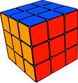 cube retro gaming vector image vector image