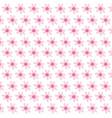 flowers nature ornament decoration textile vector image