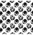 Hand drawn dot pattern vector image