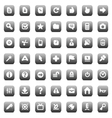 Icons for interface vector | Price: 1 Credit (USD $1)