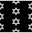 Magen David seamless pattern vector image