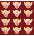 Set of fairy girls vector image vector image