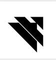 a ai initials geometric letter company logo vector image vector image