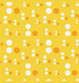 abstract circle drop seamless pattern vector image