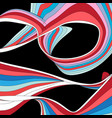 abstract multicolored background with different vector image vector image