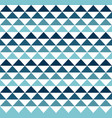 blue hawaiian tribal seamless pattern design vector image