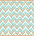 boho zig zag strip blue seamless pattern vector image