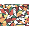 Abstract Triangle Geometrical Multicolored Backgro vector image vector image
