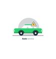 Auto car repair services diagnostic concept vector image vector image