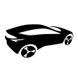 Car silhouette logo vector image vector image
