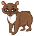 Cute little bear vector image vector image
