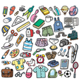 Different objects vector image vector image