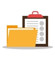 Files and documents vector image