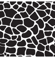 Giraffe skin seamless pattern print vector image