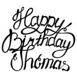 happy birthday thomas name lettering vector image vector image