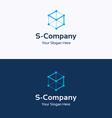 S Company logo 01 vector image vector image