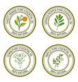 set of essential oil labels sweet orange jamaica