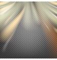 Shiny smoke streams vector image vector image