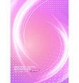 Abstract soft waves light lines background vector image vector image