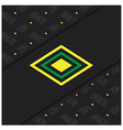 Brazil abstract background vector image vector image