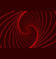 ellipse optical pattern vector image