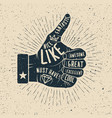 like hand drawn vector image vector image