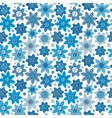 simple floral pattern seamless background vector image vector image