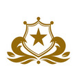 star king shields guard protection logo icon vector image vector image