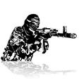 The Warrior vector image