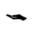Hand Icon Flat vector image