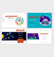 Flat space websites set