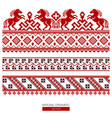 national ornament background vector image vector image