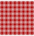 Seamless pattern with red and white colors vector image vector image
