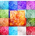 Set of abstract backgrounds Bokeh vector image