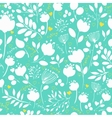 Spring Flowers Floral Seamless Pattern vector image vector image
