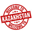 welcome to kazakhstan red stamp