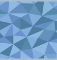 blue polygonal 3d background seamless pattern vector image vector image