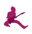 Cartoon rocker vector image vector image