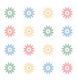 Girlish floral notebook cover vector image