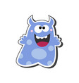 monster cartoon icon vector image vector image