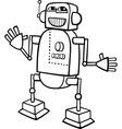 Robot cartoon for coloring