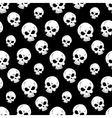 Seamless Skull Pattern vector image