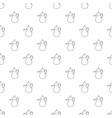 teapot pattern seamless vector image
