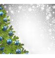 christmas shining background vector image vector image